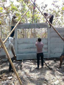 harga pemasangan pagar panel beton