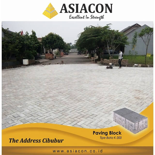 Project Paving Block Di Bogor by Asiacon
