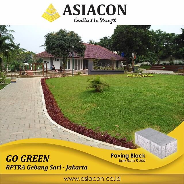 Project Paving Block Di Depok by Asiacon