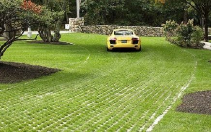 grass block untuk carport