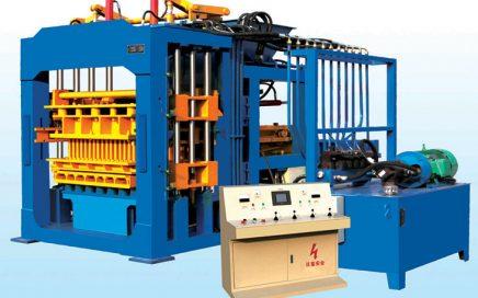 mesin paving block hidrolik otomatis