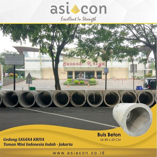 Project Buis Beton Di Jakarta by ASIACON