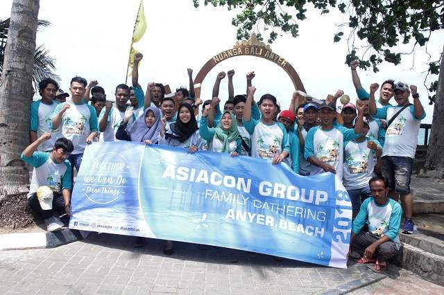 News : Acara Family Gathering PT. Asiacon 2018 di Anyer, Banten