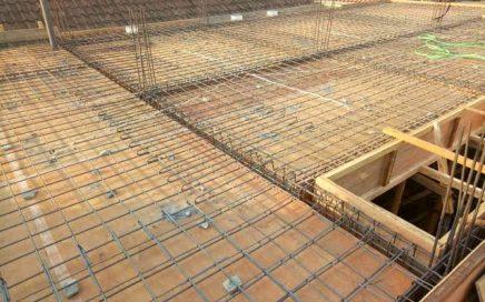 plat lantai beton