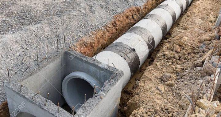 bak kontrol air saluran drainase