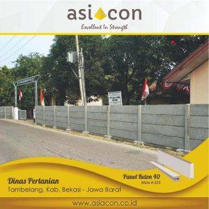 pagar panel beton cikarang