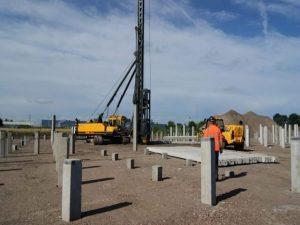 pondasi tiang pancang beton