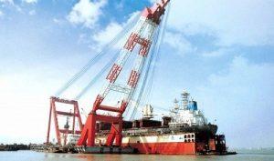 crane terapung