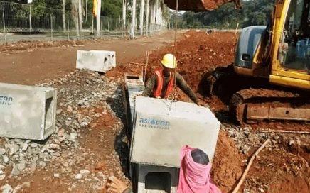 Pemasangan Box Culvert Asiacon