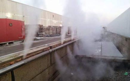 curing beton uap