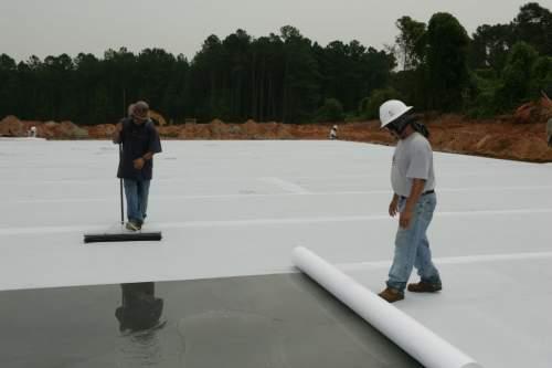 perawatan beton membran